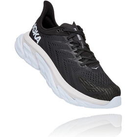 Hoka One One Clifton Edge Running Shoes Men, black/white